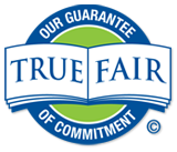 true and fair logo