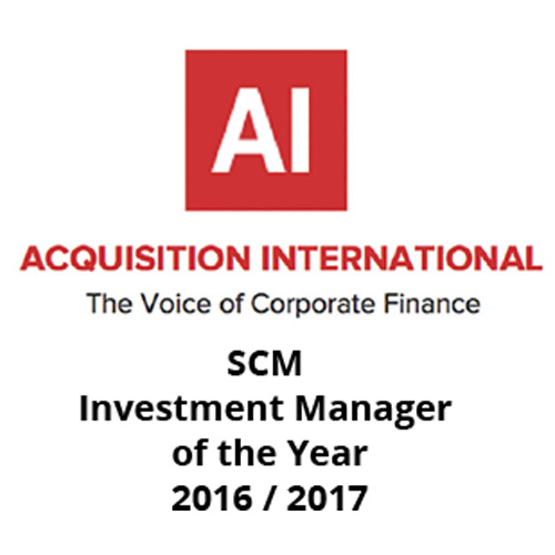 Acquisition International investment manager of the year award